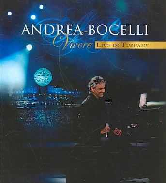 VIVERE LIVE IN TUSCANY BY BOCELLI,ANDREA (Blu-Ray)